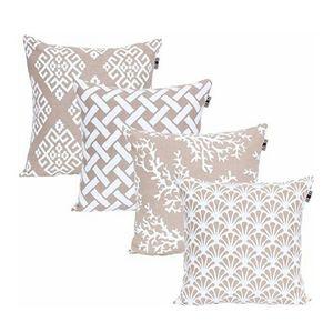 4 pillows moon light 18 x18